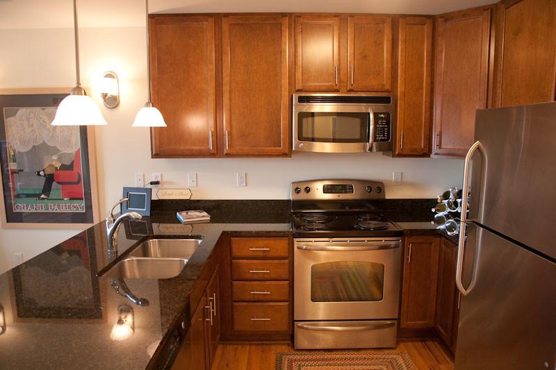 Condo Kitchen Cabinets Design