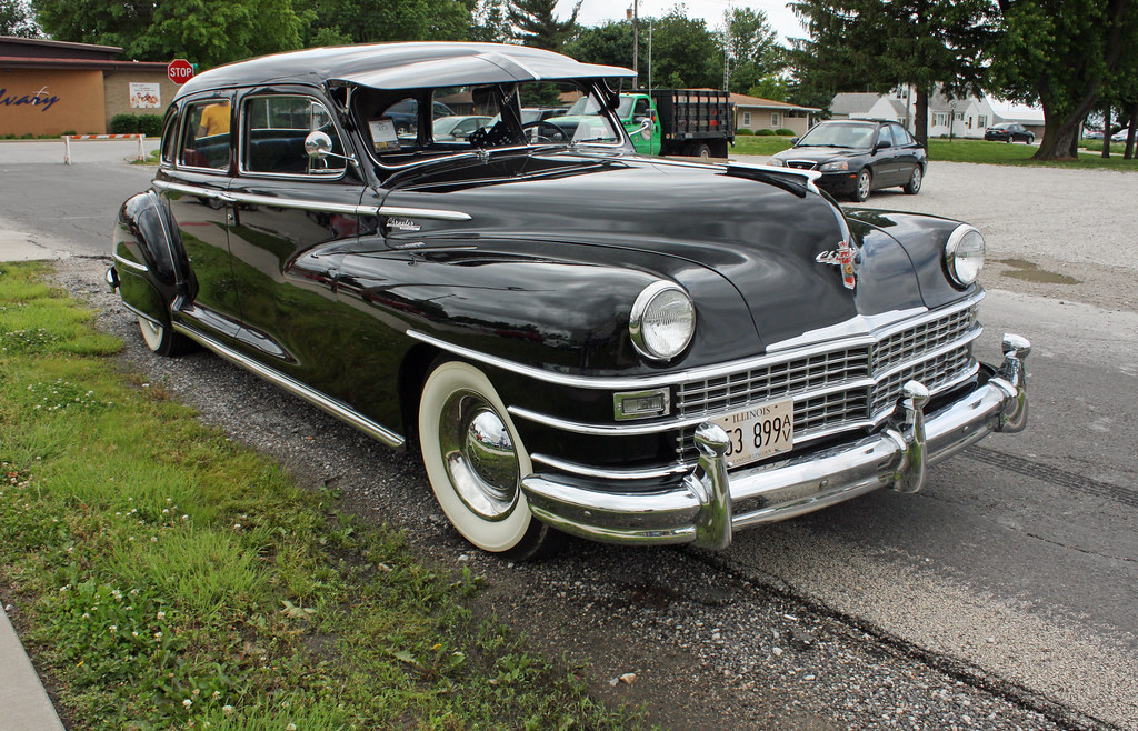 1948 Chrysler Windsor 4 Door Limousine 6 Of 17