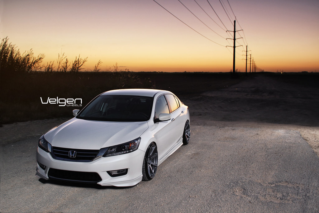2013 Honda Accord on Velgen Wheels VMB8 20x10.5 | Flickr - Photo ...