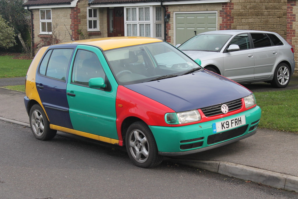 Harlequin Vw Polo This Was A Nice Surprise I Ve Always