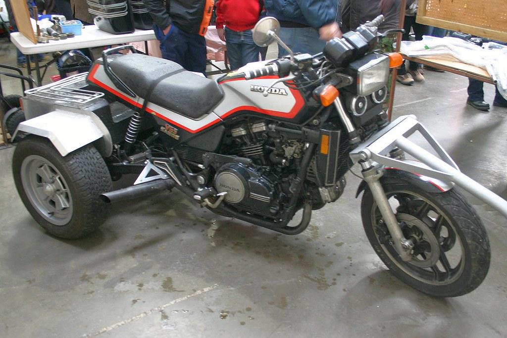 honda v65 sabre trike | ayr classic motorcycle club | flickr
