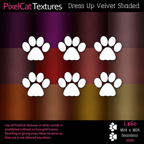 PixelCat Textures - Dress Up Velvet Shaded #91