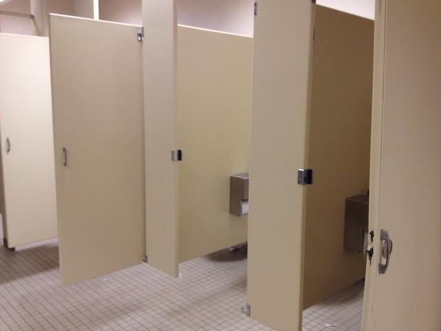 Missing Stall Door