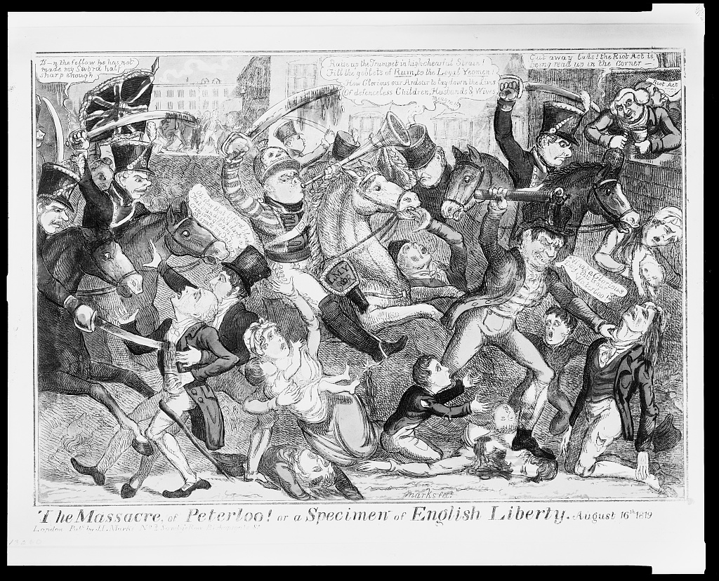 The Massacre of Peterloo! LCCN2009632742 | by Fæ