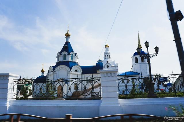 Одигитриевский собор. Улан-Удэ. Россия.Ulan-Ude. Russia.