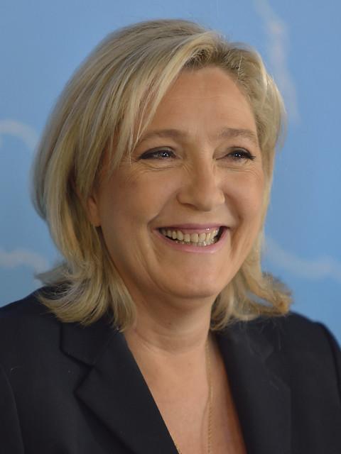 Pressekonferenz mit HC Strache, Marine Le Pen, Marcus Pretzell