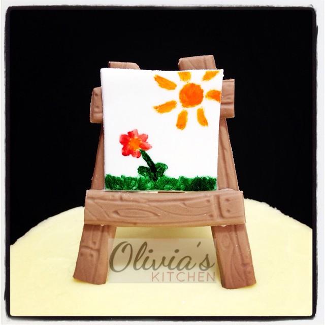 Art Easel Cake Topper : Easel Cake Topper Flickr - Photo Sharing!