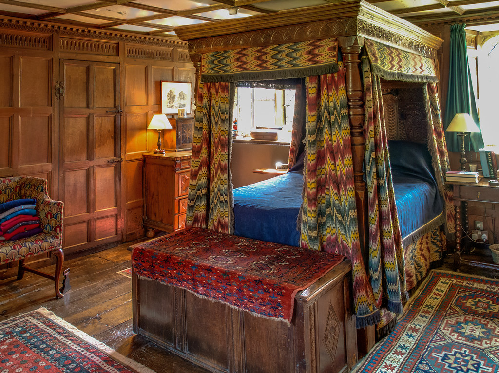 Century Four Poster Bed The Panelled Bedroom Flickr