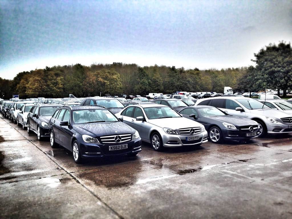 cars being sold