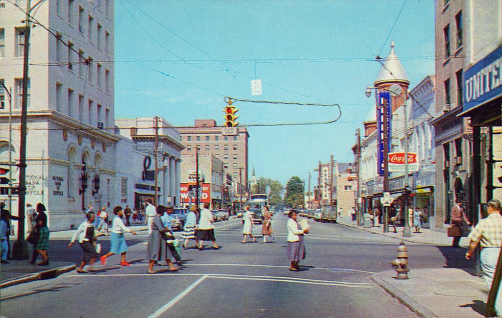 Suffolk Virginia Main Street 1950 S Ryan Khatam Flickr