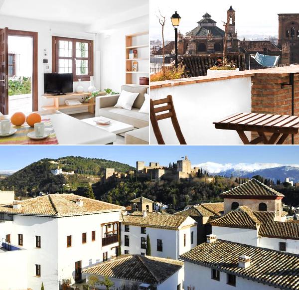 Smart Suites Albaicín, habitaciones con vistas a Granada en el centro de la ciudad