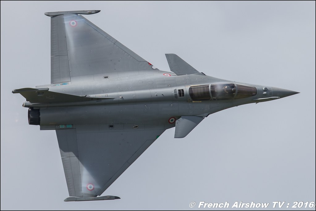 Rafale Solo Display : Meeting Aerien BA-702 Avord 2016