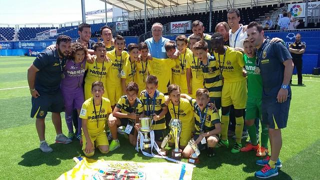 La Liga Promises: El Villarreal CF Campeón