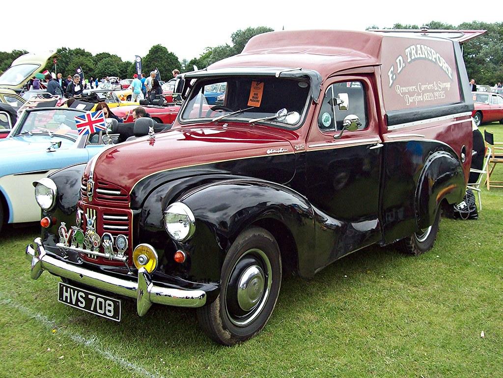 46 Austin A40 Van 1952 Austin A40 Van 1947 54 Engine