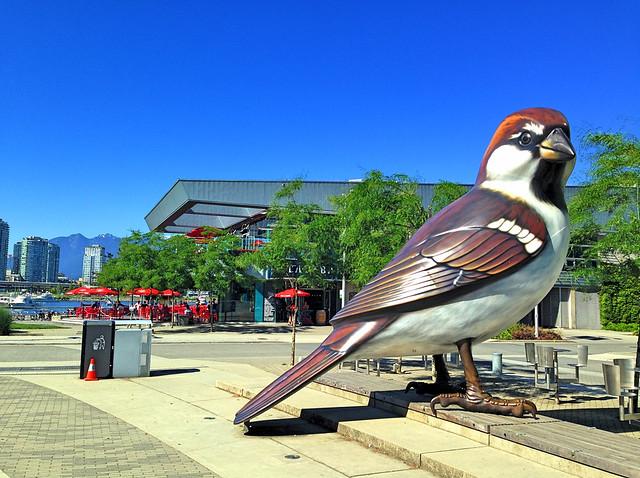 Giant Bird Posing