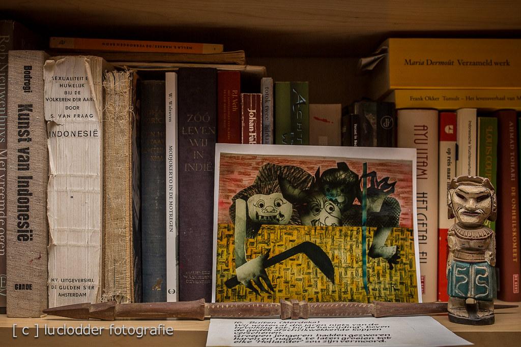 Trees ruijs de foto van het schilderij waar de jappen ove flickr - Foto van slaapkamer schilderij ...