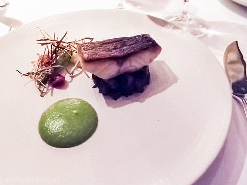 Sea Bass, Jerusalem Artichoke, Leek