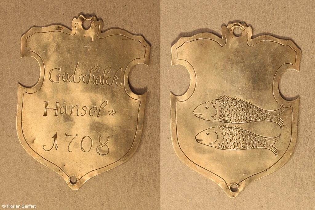 Koenigsschild Flittard von hansel godschalck aus dem Jahr 1708