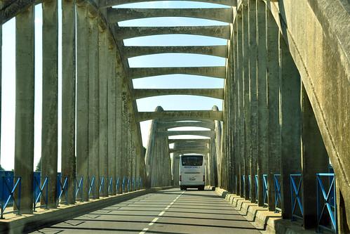Kleine Loire-Brücke in Muides-sur-Loire / Fotos: Brigitte Stolle 2016