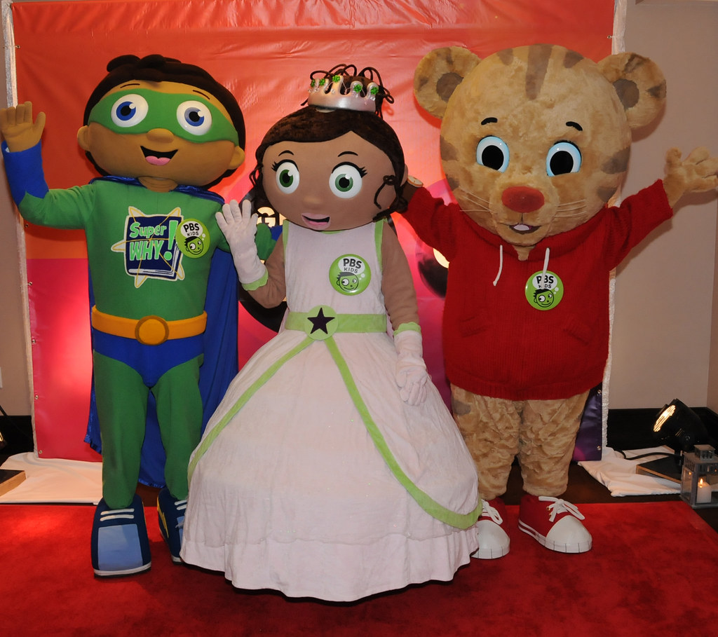Super Why!, Princess Presto & Daniel Tiger Greet Attendees