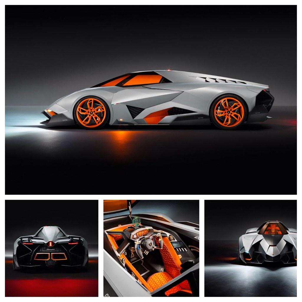 Newest Lamborghini Egoista: Lamborghini Unveils Egoista Concept Car
