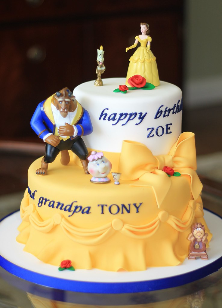 Beauty And Beast Wedding Cake