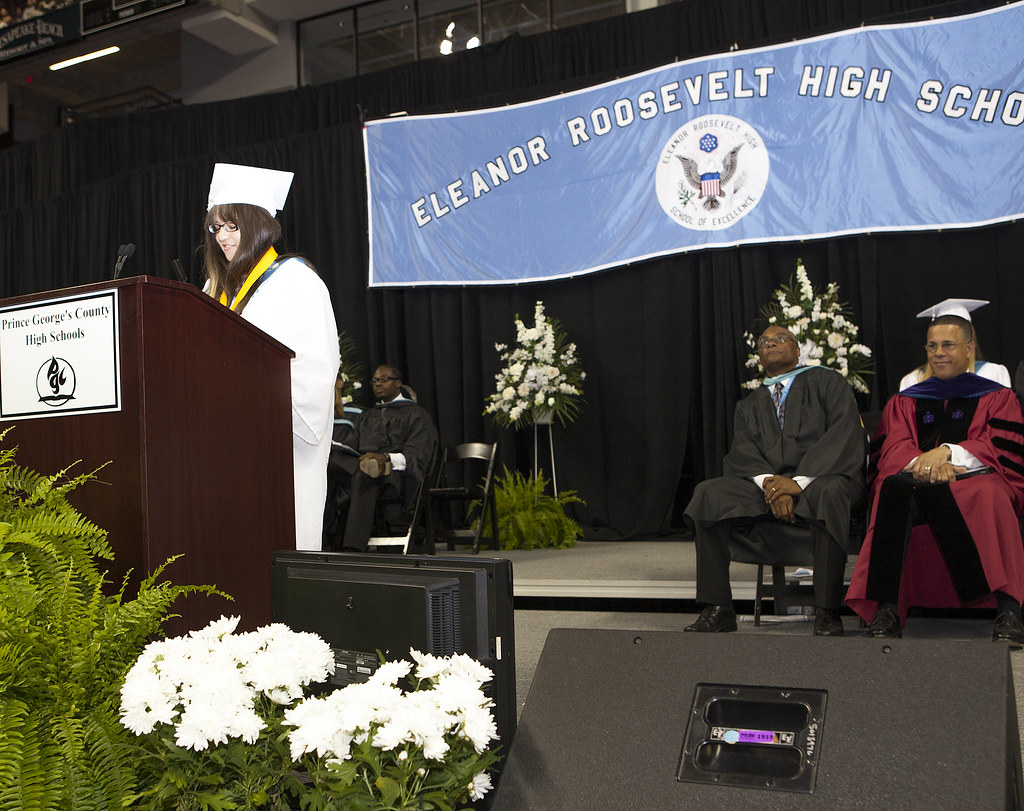 Commencement Address at Eleanor Roosevelt High School Grad ...