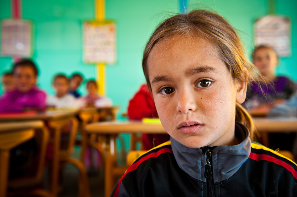 Elementary Classroom Design ~ First grade student at the elementary school in villag