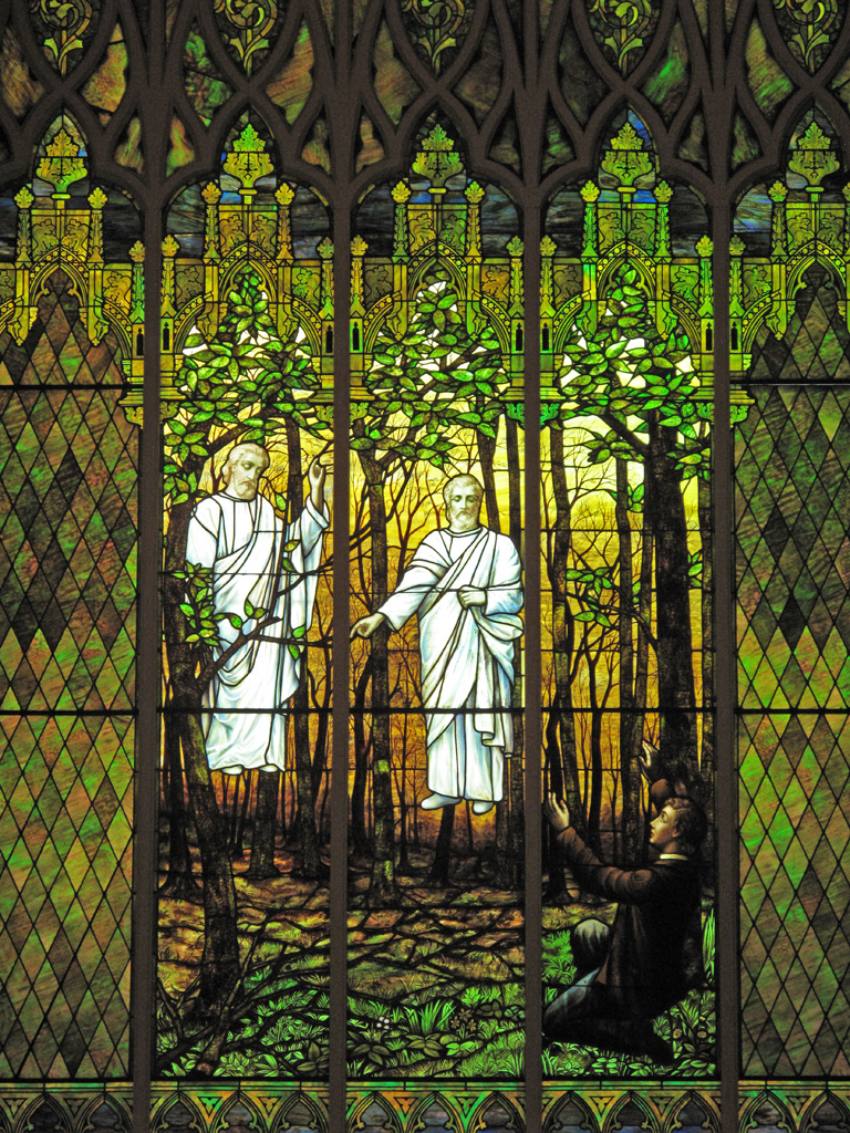 First Vision Stained Glass