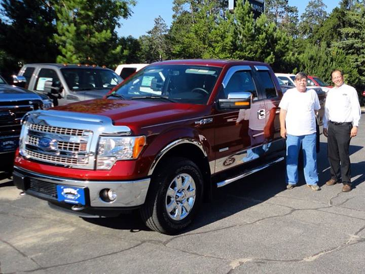 2013 Ford F 150 Xlt In Ruby Red He Sure Dressed It Up