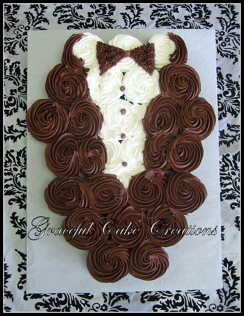 Bridal Shower Cupcake Tuxedo Grace Tari Flickr