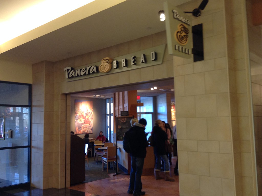 Panera Bread Panera Bread Mall Entrance 1 2015 By Mike