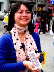 10多位志工參與發賀年卡行動