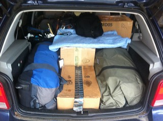 Moving in a VW Golf