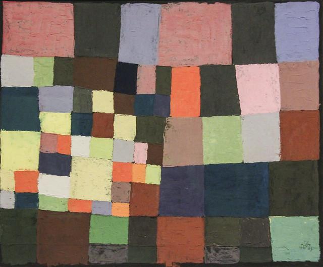 der bluhende Garten, Paul Klee, 1930