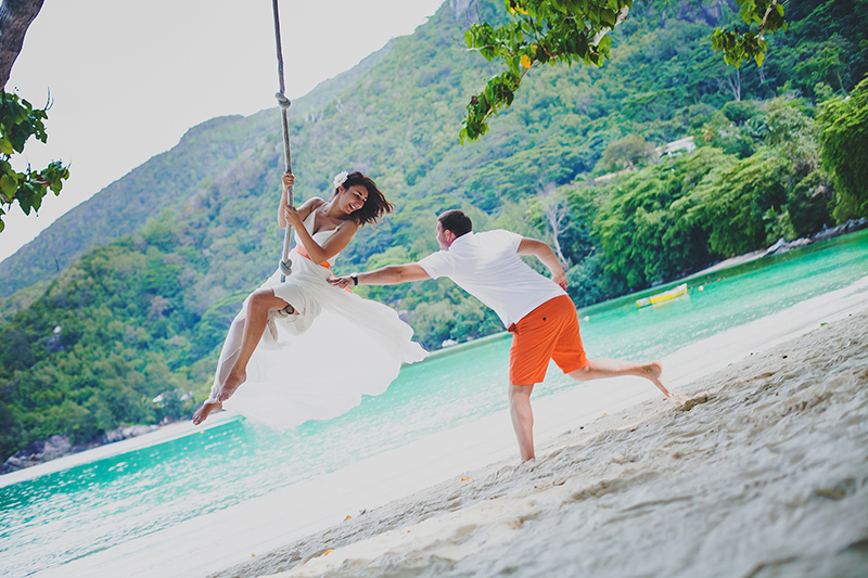 Seychelles honeymoon Photographer