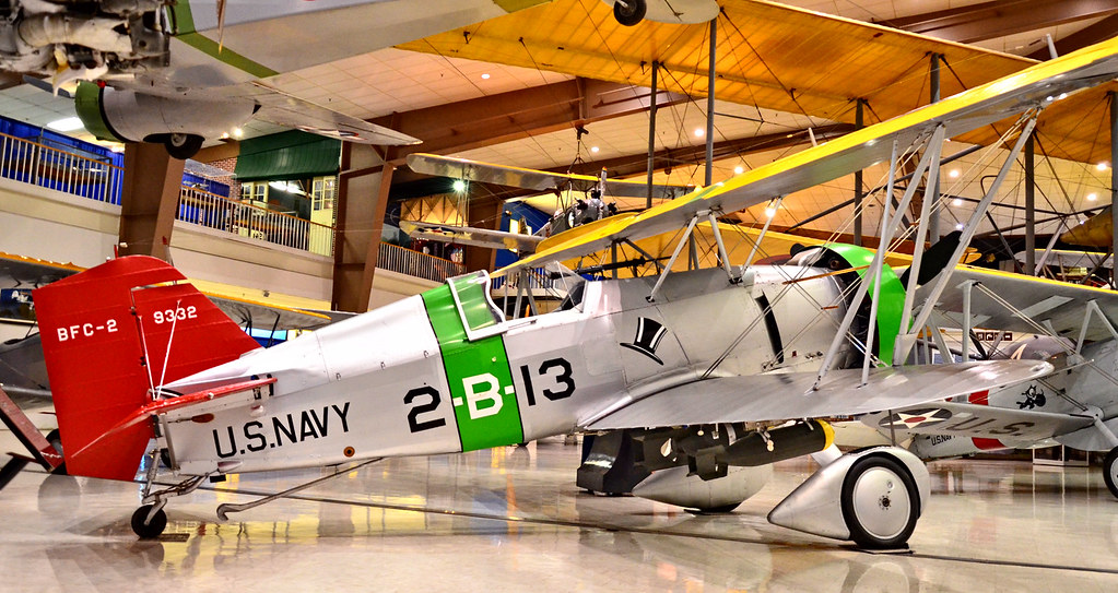 1932 Curtiss Bfc 2 F11c Goshawk National Naval Aviation M