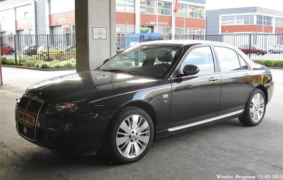 rover 75 4 6 litre v8 automatic 2005 one of. Black Bedroom Furniture Sets. Home Design Ideas