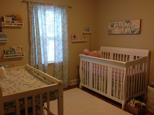nursery photo 3 | by ModernPrintCraftLiz
