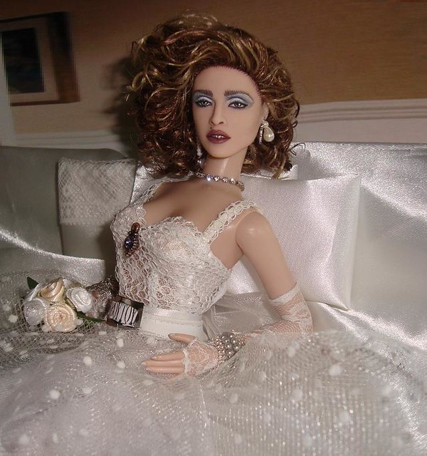 Madonna like a virgin album doll by cyguy flickr photo sharing