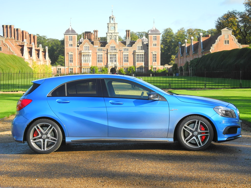 Blue A45 Amg Mercedes-benz A45 Amg | by
