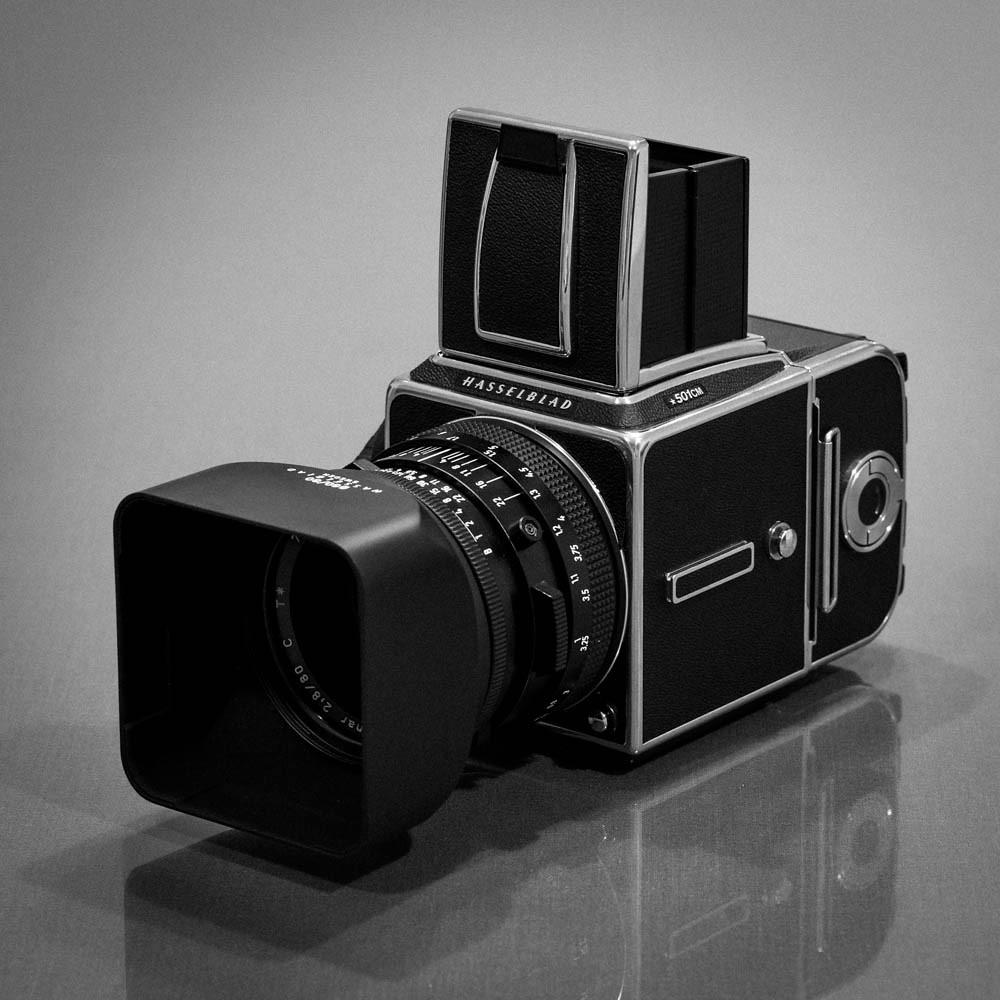 New medium format film camera