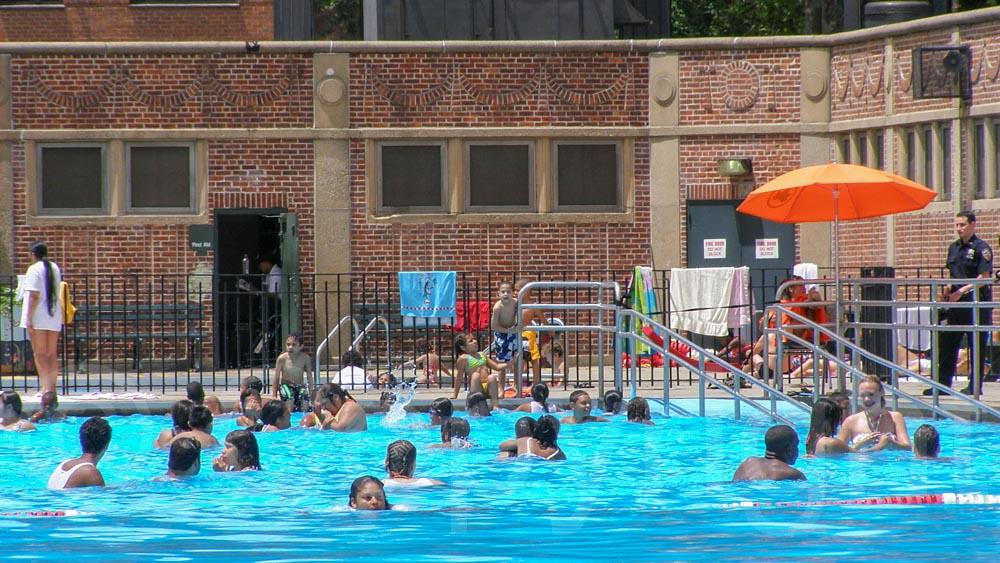 Outdoor Swimming Pool Thomas Jefferson Recreation