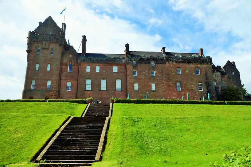 Brodick Castle, Arran, Scotland