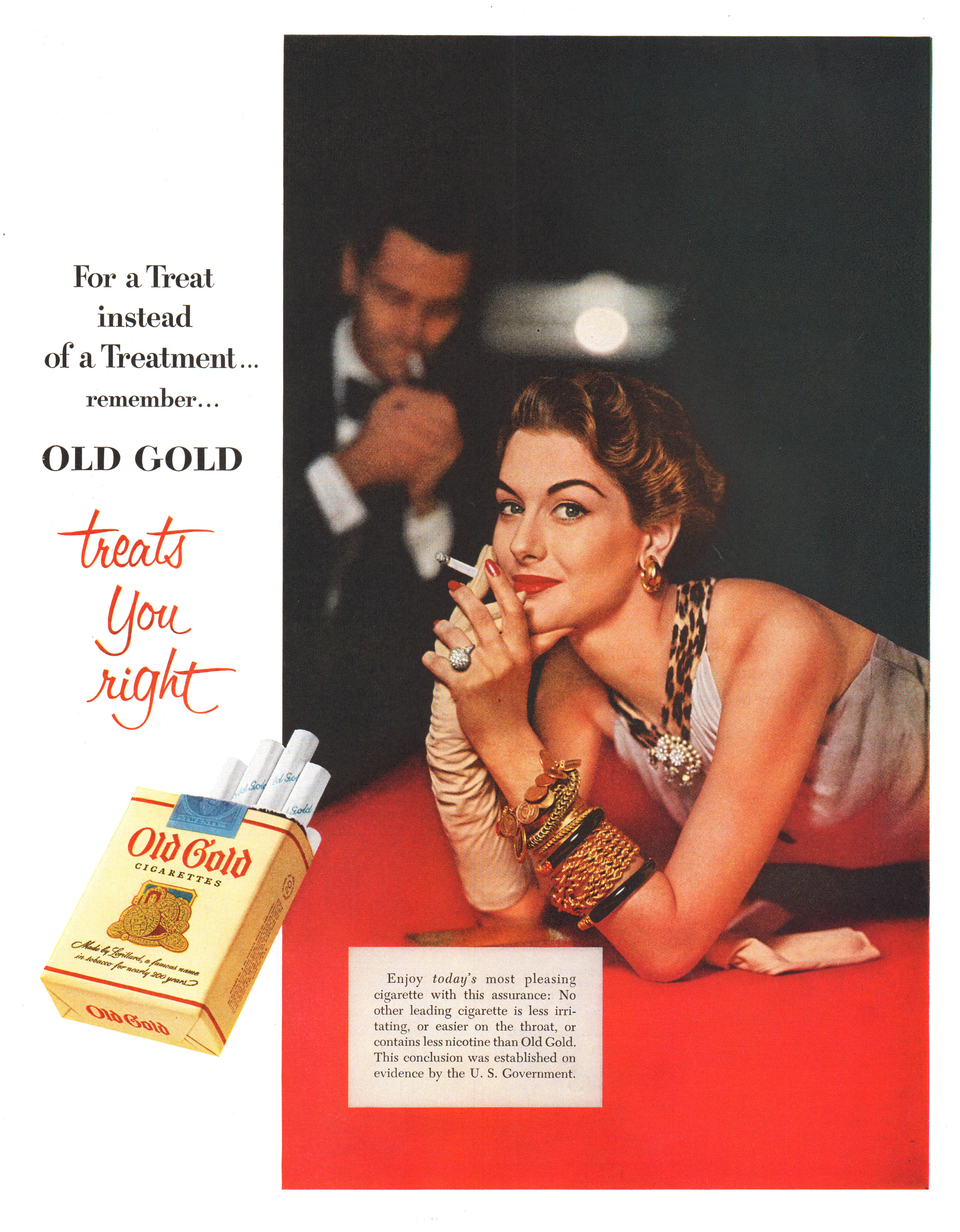 Old Gold - published in The Saturday Evening Post - February 14, 1953