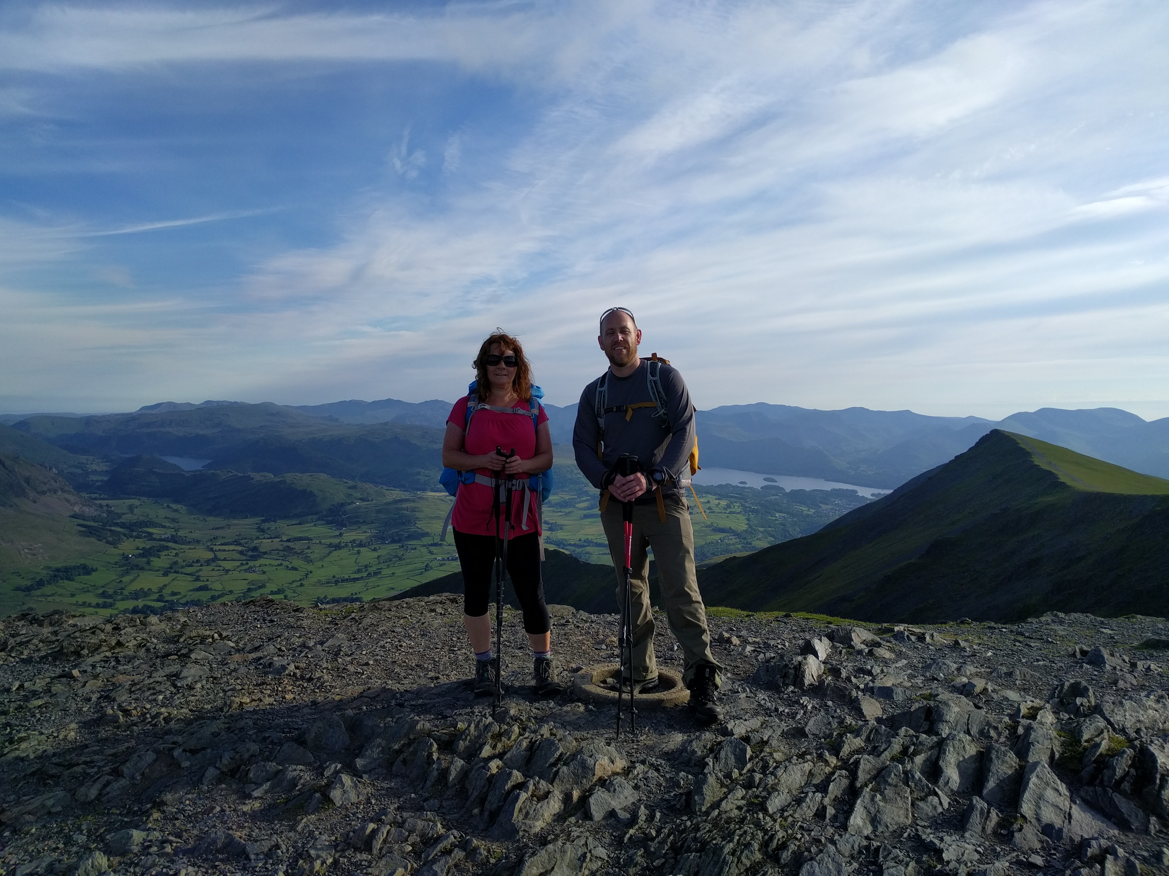 At the summit of Blencathra #sh