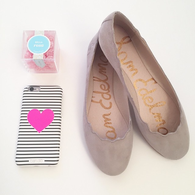 Goodies from Sam Edelman and Sugarfina