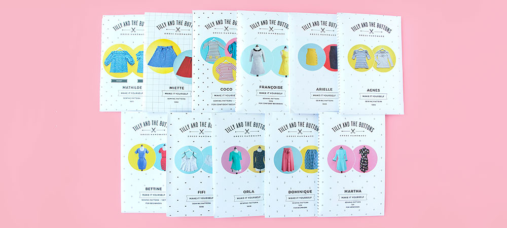 wholesale sewing patterns Tilly and the buttons stockists