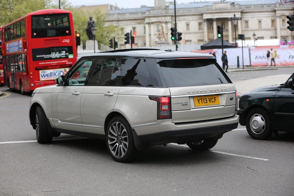 Range Rover Company Car