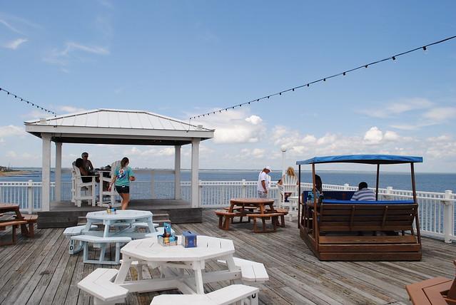 Ocean view fishing pier restaurant flickr photo sharing for Ocean view fishing pier